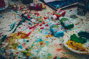 Paint Splatter Photo by Ricardo Viana